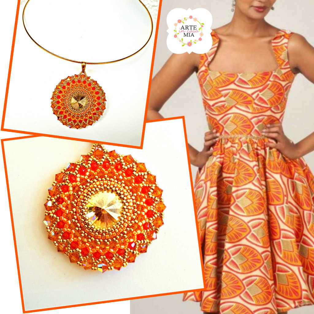 Collana ciondolo Oro – Linea Incas Art.131c