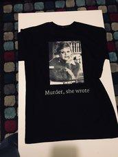 T-Shirt Donna  nera - JESSICA FLETCHER