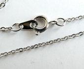 Collana argentata  coll1T
