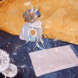 sacchettini base  x bomboniere rifiniti a mano in lino, cotone o misto