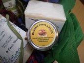 Balsamo per le Labbra alla Pesca  e Burro di karité (rafforzato con vitamina E):