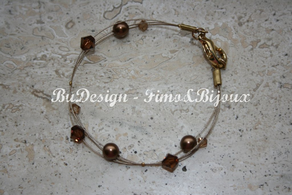 "Bracciale ""Brown Charm"""