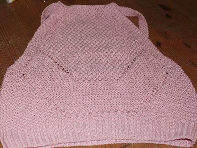 il top rosa confetto in cotone