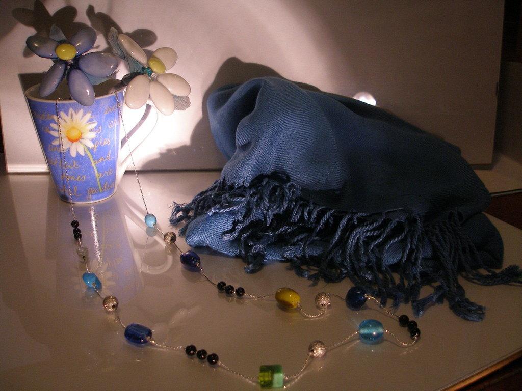 "Collana ""Blue&Shine"""