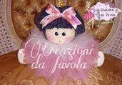 Bambola Tullia rosa antico
