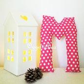 La lettera M: un soprammobile in stoffa per decorare casa