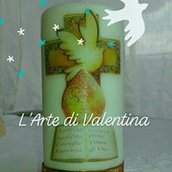candele con stampe