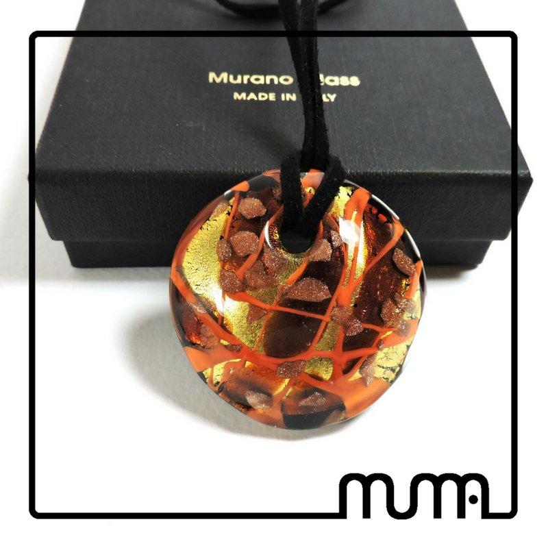 Collana donna con ciondolo in vetro di Murano bellissima idea regalo