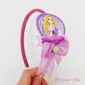 Cerchietto per capelli Rapunzel