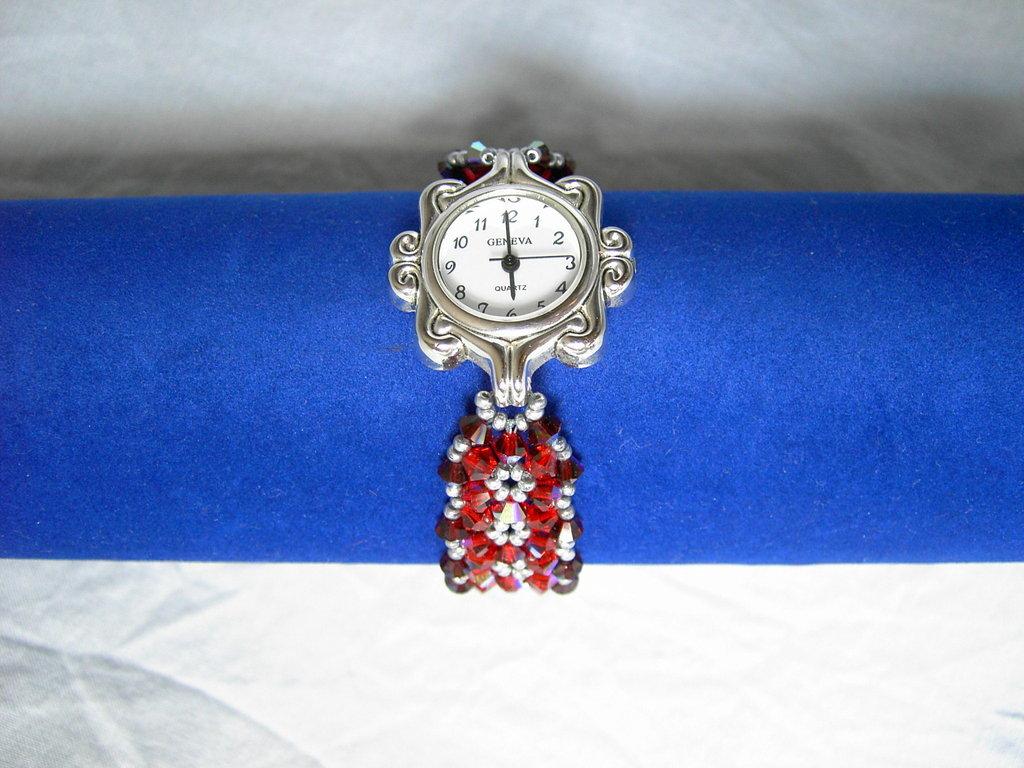 Orologio swarovski rosso