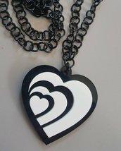 cuore ... bianco e nero