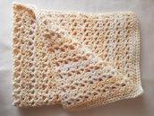 Copertina di lana per neonato da carrozzina e/o culla