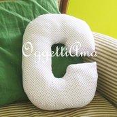 Un cuscino materasso come idea regalo per la sua cameretta: una decorazione originale e personalizzata (oltre che comoda: come la C ce ne sono poche!!!!)