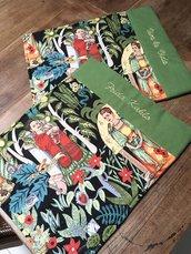 Tovagliette di Frida Kahlo, tovaglia da colazione, tovagliette all' americana