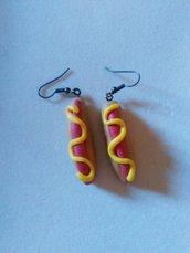 Orecchini hot dog
