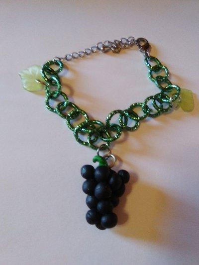 Bracciale grappolo d'uva