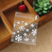 Cookie bags 20 pezzi set fiocco di neve