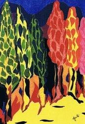 Alberi in fiamme