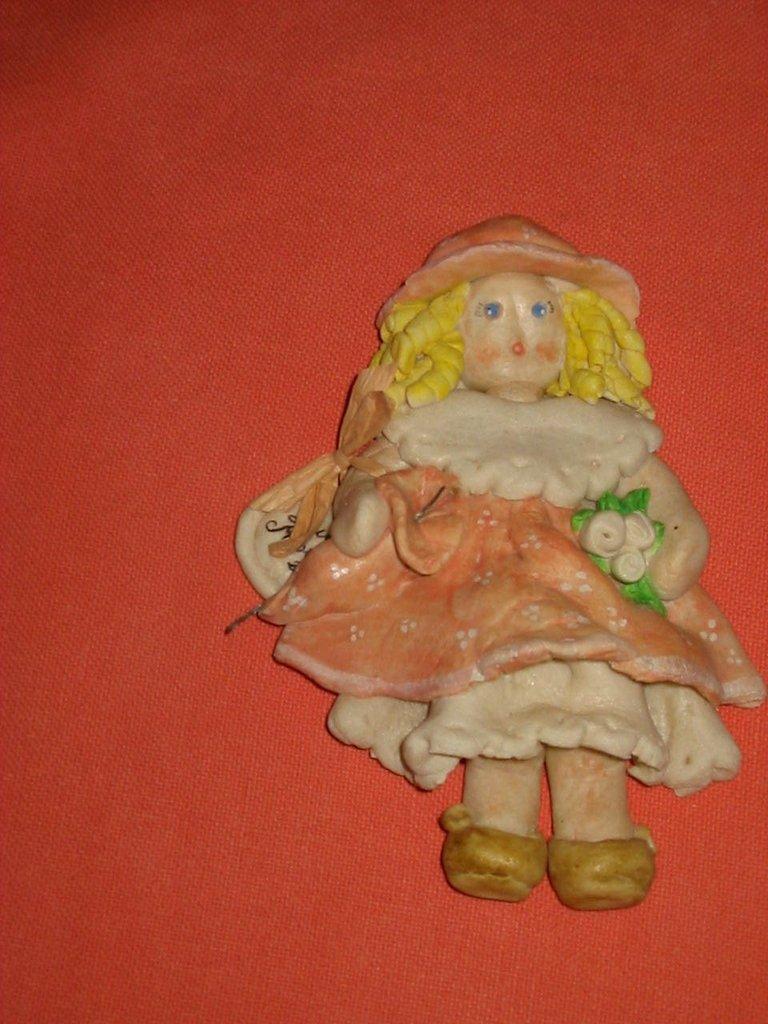 Bambolina pasta di sale