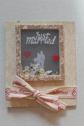 Biglietto Auguri Matrimonio - Shaker