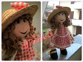 Allegra Cloth Doll -  I Pallini di Lu bambola in stoffa