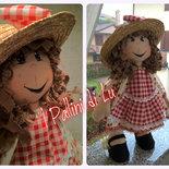 Allegra Cloth Doll -  I Pallini di Lu bambola in stoffa