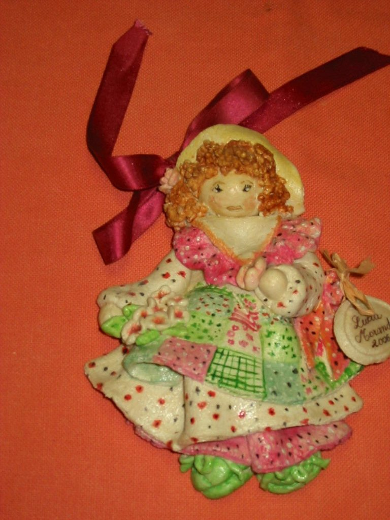 Bambola pasta di sale