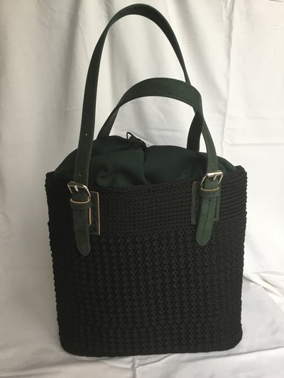 Borsa fatta a mano -shopper bag -crochet bag