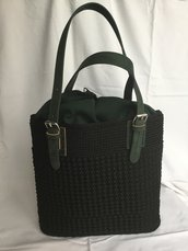 Borsa fatta a mano -shopper bag -crochet bag