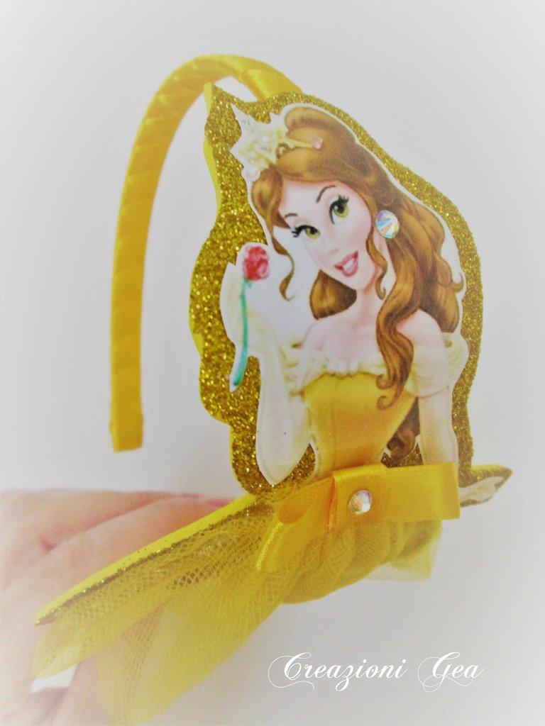 Cerchietto per capelli principessa Belle