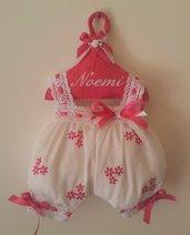 Fiocchi nascita Pagliaccetto neonato fatto a mano e personalizzabile