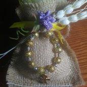 Bomboniere comunione/cresima coroncina rosario