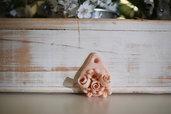Goccia con fiori e rose (piccola)