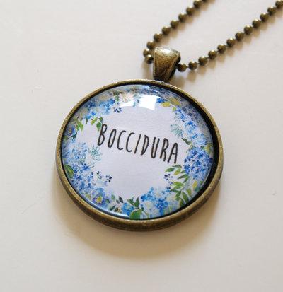 Collana Boccidura Azzurra