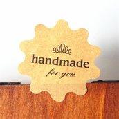 """Etichette """"hand made"""" et3"""