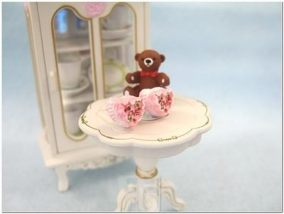 orecchini kawaii a forma di Torta cuoricino / love cake earrings