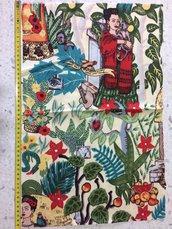 Stoffa Frida Kahlo  - (codice 4) -
