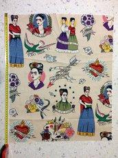 Stoffa Frida Kahlo  - (codice 49) -