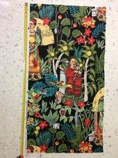 Stoffa Frida Kahlo  - (codice 13) - 34x69 cm.