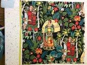 Stoffa Frida Kahlo  - (codice 14) -