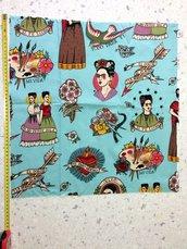 Stoffa Frida Kahlo  - (codice 33) -