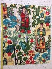 Stoffa Frida Kahlo  - (codice 8) -