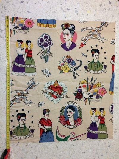 Stoffa Frida Kahlo  - (codice 41) -