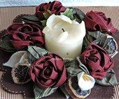 Ghirlanda  porta candele