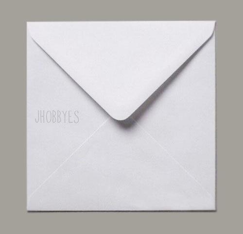 Buste da lettera quadrate 155x155 mm
