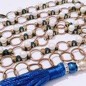 """Cintura gioiello in ottone ramato """"Lizzie 2"""""""