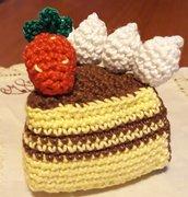 Una bellissima fetta di torta