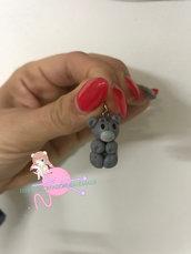 Ciondolo in fimo mini orsetto