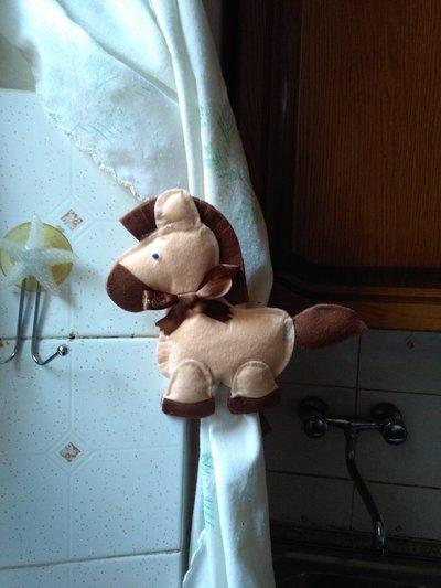 Fermatenda, targhetta fuori porta e orsetto personalizzato con portafoto
