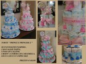 "Torta Pannolini ""Princess"""